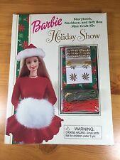 Barbie Storybook Necklace Gift Box Mini Craft Kit Holiday Show Mattel
