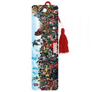 Marvel Universe Characters Lineup Bookmark Multi-Color