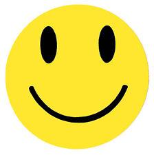 Smiley Face Sticker - Rave Prodigy Pendulum House Music Hippy Fans 80s Retro
