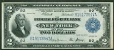 "$2.00 FRBN - New York ""Battleship"", 1918, Fr. #752, XF+"