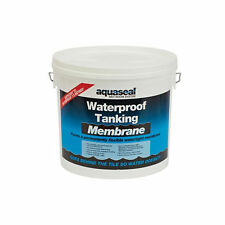 AQUASEAL WET ROOM SYSTEM WATERPROOF TANKING MEMBRANE 5L EVERBUILD 5 LITRE