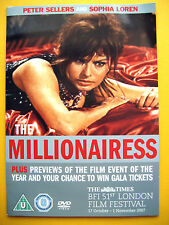 THE MILLIONAIRESS , A THE TIMES NEWSPAPER PROMOTION (1 DVD)