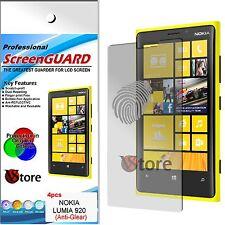4 Pellicole Opaca Per Nokia Lumia 920 Antiriflesso Antimpronta Pellicola Schermo