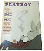 1960 Vintage Playboy Magazine October Playmate Centerfold VF Bunny gift giving