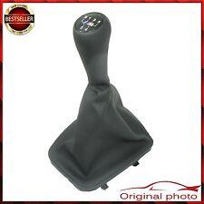5 speed BMW Shift Gear Knob Leather + Gaiter M tech sport Shifter E30 NEU