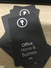 Ms Office Home And Business 2019- 1 User Key Online(Only Pc) Or Key Card(Pc/Mac)