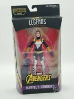 Marvel Legends Avengers Infinity War 6-Inch Songbird Thanos BAF New