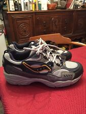 Saucony Women's Blue Gray Running Athletic Shoes Size 7 8