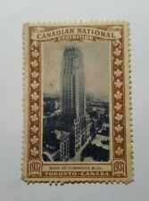 Rare 1937 Canadian National Exhibition commemorative stamp - CNE - B of Commerce