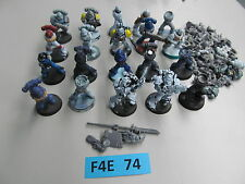 Warhammer 40K Space Marine army lot - 20 partially painted Tactical Troops o