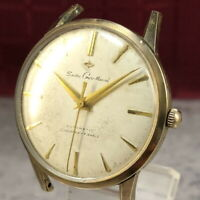 Vintage 1960 SEIKO GYRO MARVEL EGP Gold Plated Automatic Watch from Japan #428