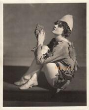 "EVA LE GALLIENNE Vintage Original Photo 1930s ""PETER PAN"" CIVIC REPERTORY Rare"