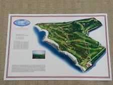 "Royal Porthcawl - Vintage Golf Course Maps print (31"" x 20"")"