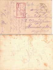 1918 Germany Offices in Turkey - 2 Postcards - See both Scans