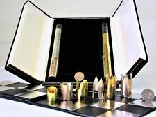"VINTAGE set di scacchi ""spasky-FISCHER"" Hallmark argento, in base Cy Endfield, FIDE 1972"