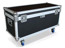 Transportcase 100x40cm Blue Wheels Flightcase Messe Handwerk *Retoure*