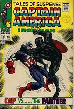 """Tales Of Suspense 98 Black Panther Baron Zemo VG/F 1968 """"KEY ISSUE"""""""