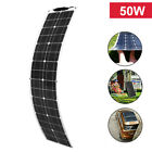 50w flexible Portable Solar Panel For Car Battery/Boat/Camping/RV /Power station