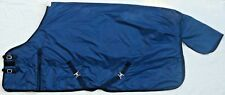 "76"" Tack Barn Winter Turnout/Stable Horse Blanket Navy Blue 800DN No Fill"