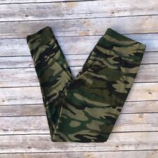 Green Camouflage Women's Leggings Extra Plus Size TC2 18-24 Buttery Soft