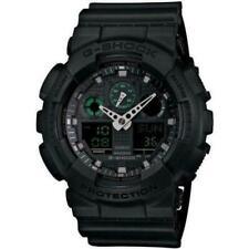 Casio G-Shock Analog-Digital Watch - Black (GA-100MB-1A)