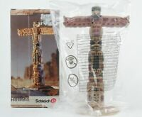 SCHLEICH Native American Indian Wild West TOTEM POLE New In Box