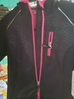 Free Country L.T.D. Free Country Girls Size 5/6 Softshell Full Zip Hooded Jacket
