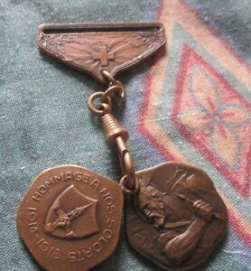 Antique Bronze Watch Fobs Switzerland