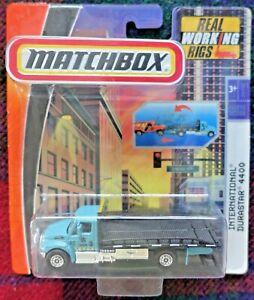 MATCHBOX Real Working Rig - International Durastar 4400 flatbed (MIB) 2009 Thai