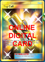 1X Tag Call 270/236 Cosmic Eclipse Pokemon Online Digital Card