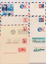 US Postal Card Collection 1949-1999 26 Air Mail Cards UXC1 to UXC27 Nice ! |