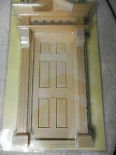 1:12 scale Houseworks Victorian 6 panel door