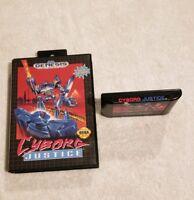 Cyborg Justice Sega Genesis VIDEO GAME IN CASE NICE