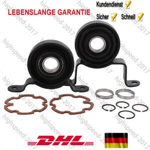 Satz 2x Mittellager Lagerbock Kardanwelle für VW T5 4Motion Syncro Vorne+Hinten