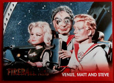 FIREBALL XL5 - Foil Chase Card F4 - VENUS, MATT AND STEVE - GERRY ANDERSON