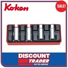 Koken Screw / Stud Extractor Puller Set Ko-Ken 4 Piece Imperial SAE - 4211A
