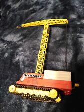 vintage diecast corgi major tower crane, pre-owned