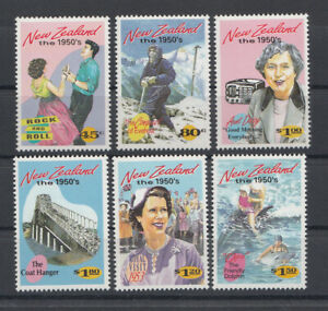 New Zealand: 1994 Emerging Years the 1950s. SG1787-1792. MUH & Cheap