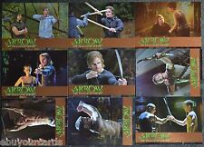 Cryptozoic Arrow Training Bronze Foil Parallel Complete Set TR1-TR9 Trading Card