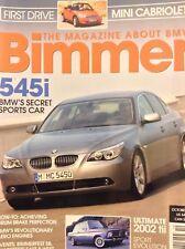 Bimmer BMW Magazine 545i BMW October 2004 020718nonrh