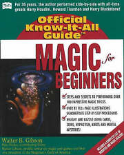 Magic for Beginners by Walter Gibson (Paperback, 2002)