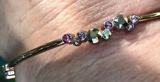 Brighton Rose Gold colored Swarovski bangle bracelet