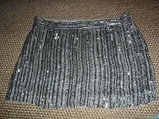 Stunning  All Saints Voltaire Sequin Skirt Size 6 VGC