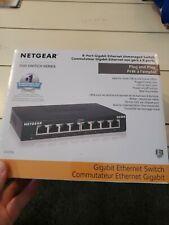 NETGEAR 8-Port Gigabit Ethernet Unmanaged Switch (GS308) - Home Network Hub