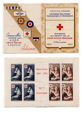 FRANCE   CARNET CROIX ROUGE 1954 N° 2003  N**  COTE 180  EUROS