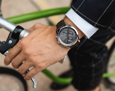 Hugo Boss HB1513476 Grand Prix Mens Chronograph Quartz Watch with Leather Strap