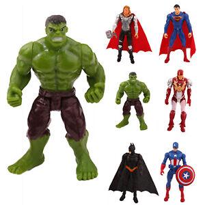 MARVEL SUPERHELDEN Action Figuren Figur Spielzeug Xmas Iron Man Thor Hulk Batman
