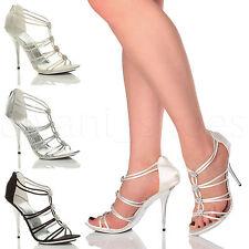 Evening Gladiators Textile Shoes for Women
