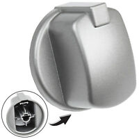 Silver Inox Control Knob Switch Gauge for Indesit Oven Cooker Hob