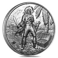 2 oz Privateer Series - The Captain Privateer Ultra High Relief Silver Round